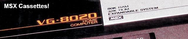 MSX Cassettes!