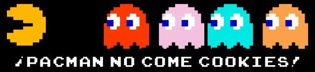 Pacman no come cookies