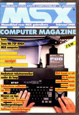 MSX Computer & Club Magazine